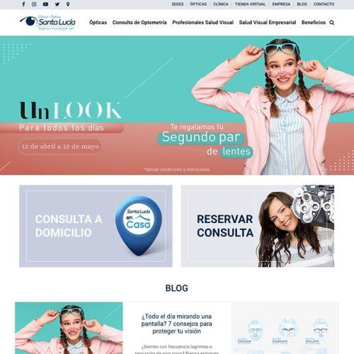 Tienda Virtual Santa Lucía